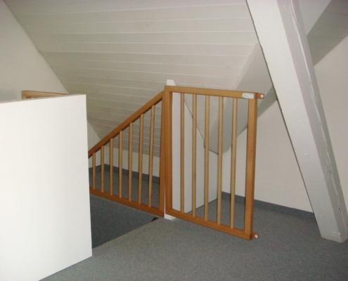 Kindersicherung Treppenhaus